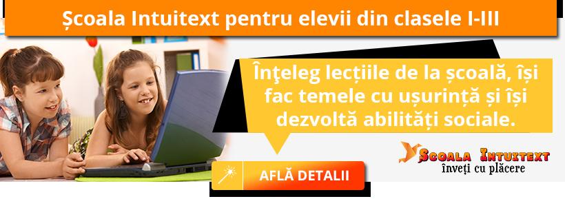 Site-ul educațional Școala Intuitext este APROBAT de Ministerul Educației