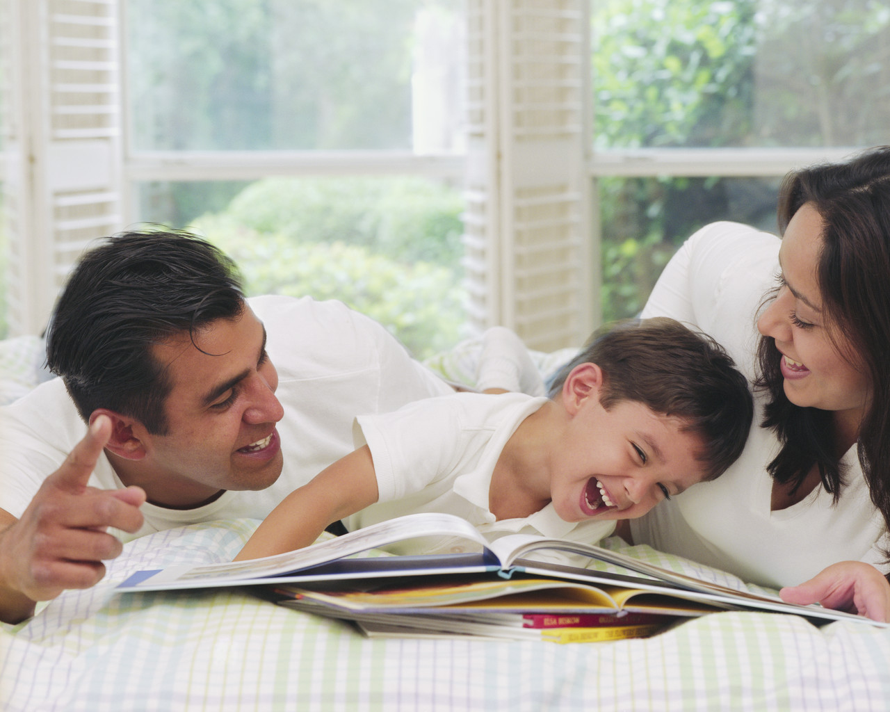 Părinții echilibrați cresc copii fericiți