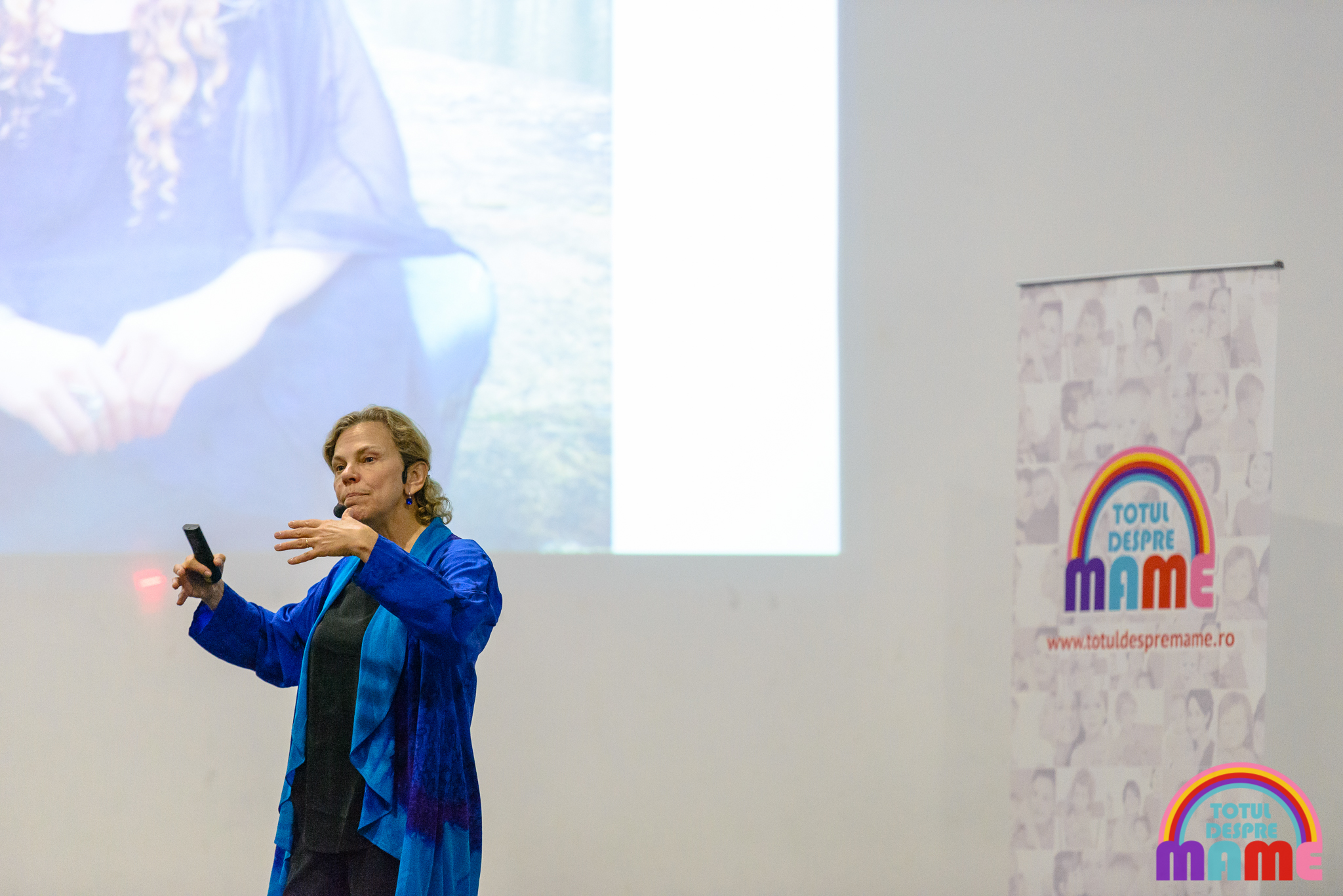 Laura Markham la București