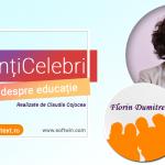 Interviu Chef Florin Dumitrescu (Antena 1) pentru campania Intuitext #PărințiCelebri