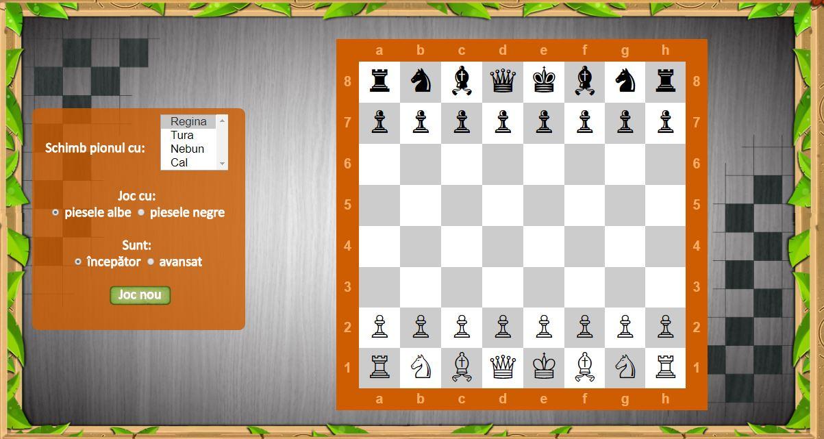 Șahul dezvoltă atenția, răbdarea, logica