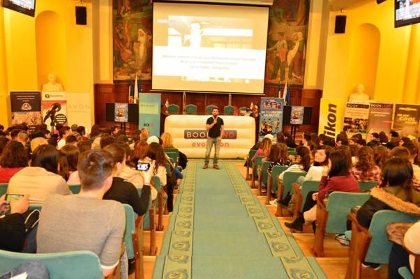 ScoalaIntuitext.ro susține Conferințele Bookland Evolution