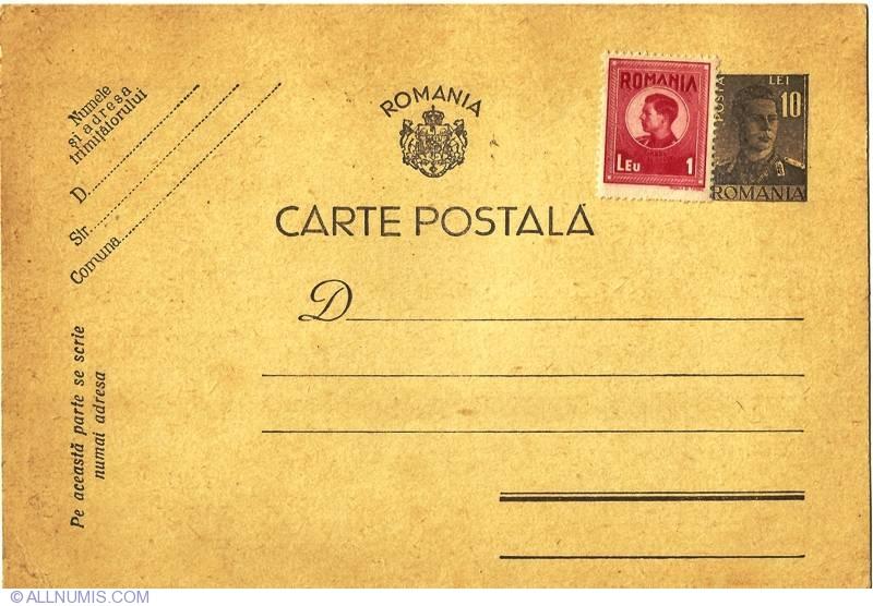 LECȚIE ONLINE: Cartea poștală