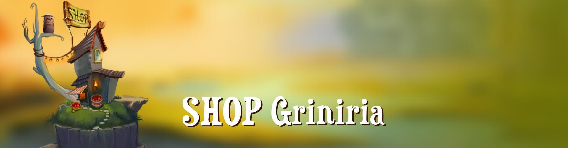 SHOP Griniria